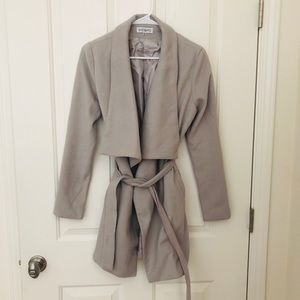 Showpo Grey Coat